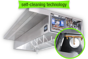Self-Cleaning Hoods